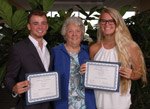 students receiving GSC Scholarships