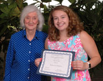 student receives GSC Scholarship