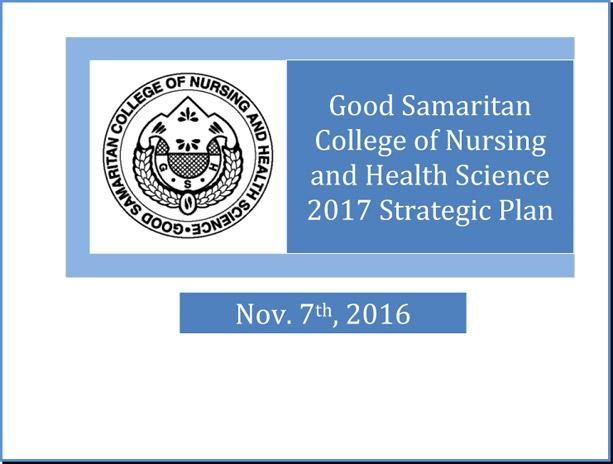 GSC Strategic Plan